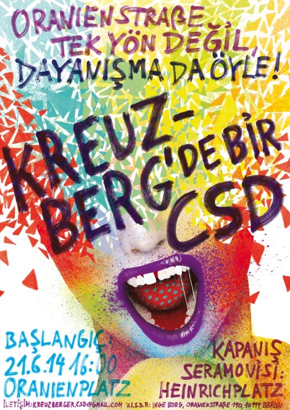 Kreuzberger CSD 2014